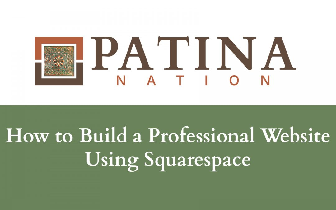How to Build a Professional Website Using Squarespace