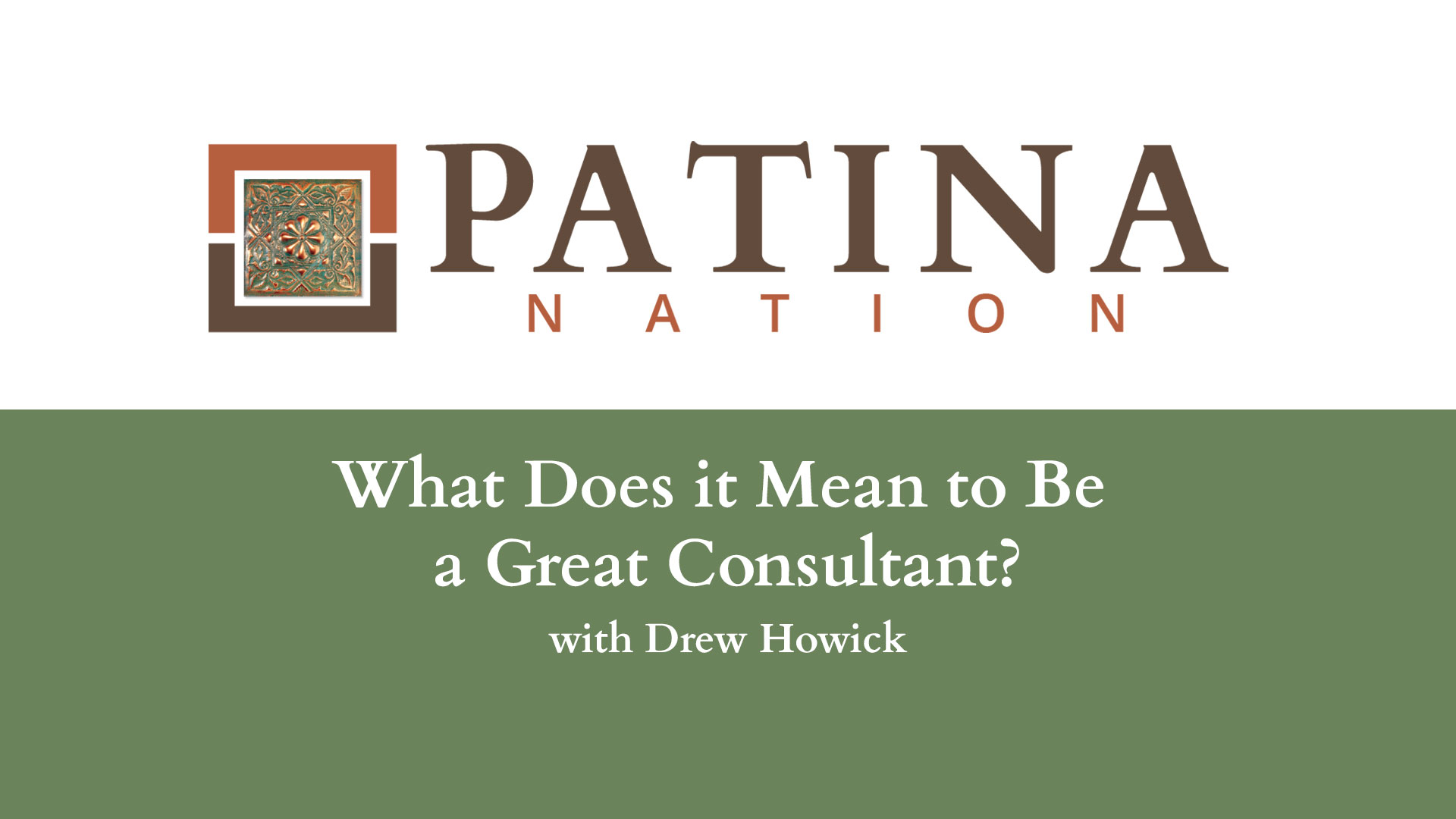 What Does it Mean to Be a Great Consultant?