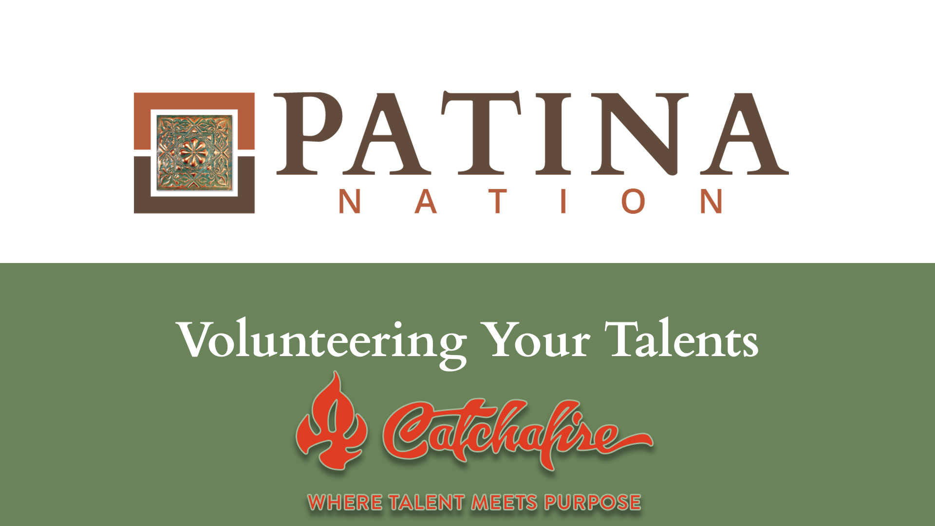 Volunteering Your Talents